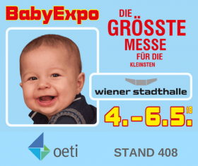 Visit us at baby expo in Vienna!